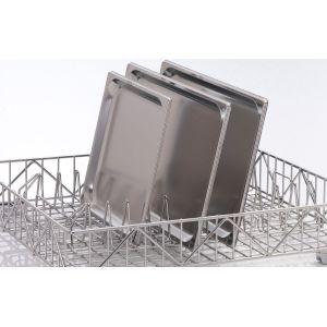 Вставка в посудомоечную корзину для противней и подносов для машин посудомоечных UF-M, UF-L, UF-XL, GS 630, 12 рядов, нерж.сталь