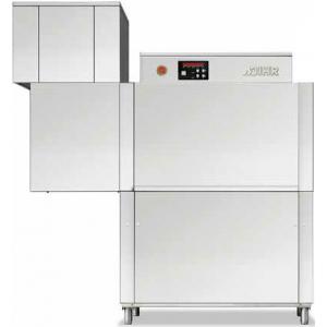 Машина посудомоечная конвейерная, 500х500мм,  70-100кор/ч, реверсивная, правая, гор.вода, без дозаторов, сушка 4.5кВт