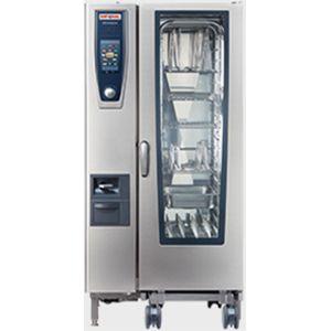Пароконвектомат электрический бойлерный, тележка 20GN1/1, электронное управление, щуп, душ, автоматическая очистка CareControl