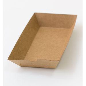 Лоток 163х85х40мм бумага крафт двухсторонний