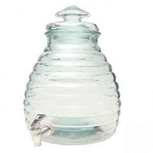 Диспенсер для напитков 11л h 38см с краном, стекло