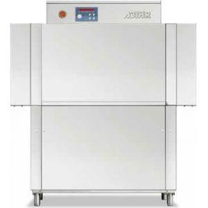 Машина посудомоечная конвейерная, 500х500мм,  70-100кор/ч, реверсивная, правая, гор.вода, без дозаторов, защита от брызг с 2-х сторон