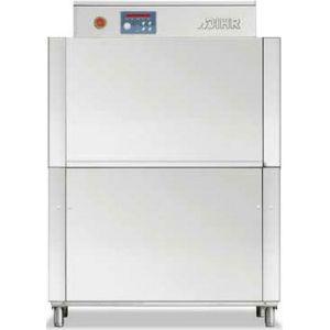 Машина посудомоечная конвейерная, 500х500мм,  70-100кор/ч, реверсивная, правая, гор.вода, доз.опол.+моющ.
