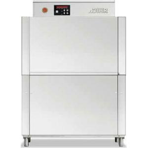 Машина посудомоечная конвейерная, 500х500мм,  70-100кор/ч, реверсивная, левая, теп.вода, доз.опол.+моющ.
