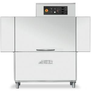 Машина посудомоечная конвейерная, 500х500мм,  83-107кор/ч, левая, гор.вода, доз.опол.+моющ., защита от брызг