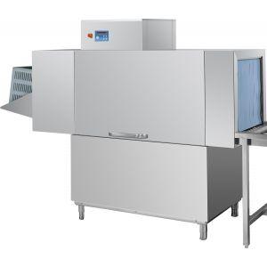 Машина посудомоечная конвейерная для корзин 510х500мм, 1.5-2.0м/мин, левая, гор.вода, без дозаторов, защита от брызг