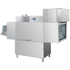 Машина посудомоечная конвейерная для корзин 510х500мм, 1.5-2.0м/мин, левая, гор.вода, доз.опол.+моющ., защита от брызг, сушка 9кВт, конденсатор