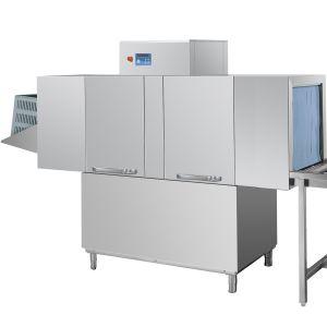 Машина посудомоечная конвейерная для корзин 510х800мм, 1.5-2.0м/мин, левая, гор.вода, без дозаторов, защита от брызг