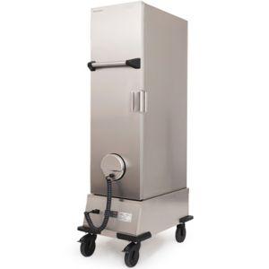 Термоконтейнер охлаждаемый передвижной, 1 дверь глухая, 30GN1/1-65, колеса, +2/+8С, нерж.сталь