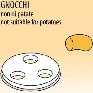 Матрица латунно-бронзовая для аппарата для макаронных изделий MPF 1.5N, gnocchi (клецки итальянские), 12х5мм