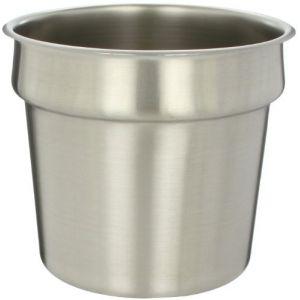 Ёмкость-вставка цилиндрическая, вместимость 6.65л, серебристая, д/P4710/P4710BK