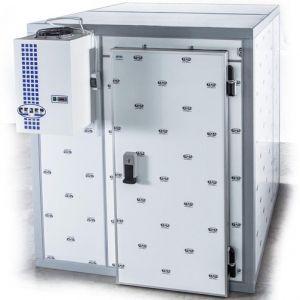 Камера морозильная Шип-Паз,  24.78м3, h2.24м, 1 дверь расп.универсальная, ППУ100мм