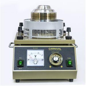 Аппарат сахарной ваты, вертикальная подача, 5kg/h., пласт. ловитель, ТЭН, цвет корпуса золотистый