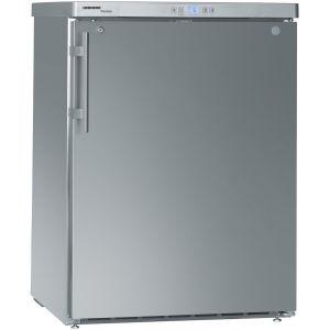 Шкаф холодильный д/напитков (минибар), 141л, 1 дверь глухая, 3 полки, ножки, +1/+15С, дин.охл., нерж.сталь