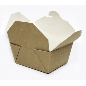Коробка универсальная 600мл бумага крафт