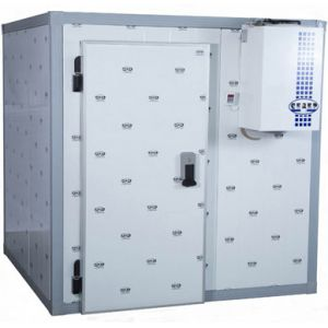 Камера морозильная Шип-Паз,  16.10м3, h2.72м, 1 дверь расп.левая, ППУ80мм