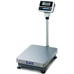 Весы электронные товарные, напольные, ПВ 0.40-150кг, дискретность 50г, платформа 400х500мм, подкл.комбинированное, дисплей на стойке