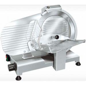 Слайсер электрический наклонный, D ножа 250мм, корпус алюминий, устройство заточное фиксированное