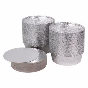 Крышка для круглого контейнера 770мл алюминий