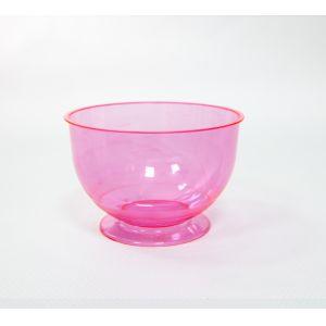 Креманка КРИСТАЛЛ 200мл пластик красный