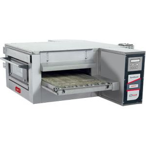 Печь для пиццы электрическая, конвейерная, 1 камера 500х850х100мм, электронное управление, нерж.сталь