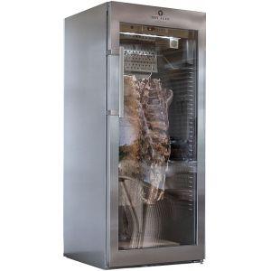 Шкаф для созревания говядины, свинины, ветчины и салями, 478л, 1 дверь стекло, 1 вешало, 0/+25C, дин.охл., нерж.сталь