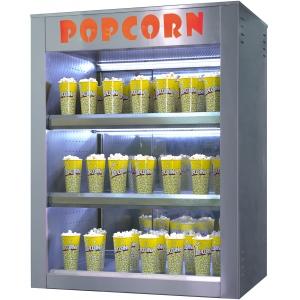 Витрина для попкорна, конвекция, 3 полки, настольная, L1.00м