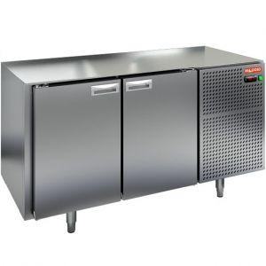 Стол холодильный, GN2/3, L1.39м, без столешницы, 2 двери глухие, ножки, -2/+10С, нерж.сталь, дин.охл., агрегат справа