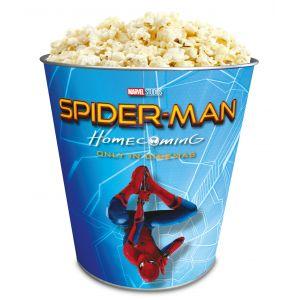 Жестяное ведро для попкорна «Человек-паук: Возвращение домой», 130 унций/3.80л.
