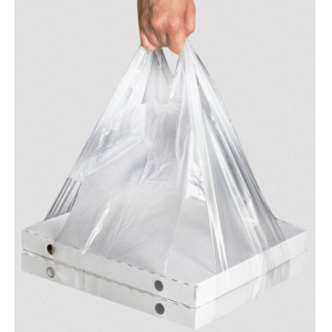 Пакет для переноски коробок от 30x30см до 38x38см полиэтилен прозрачный