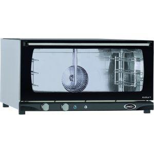 Печь электрическая конвекционная,  3х(600х400мм), управление электромех., корпус нерж.сталь, увлажнение ручное, дверь откидная