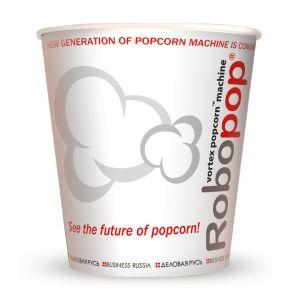 V 32 «Робопоп», стакан бумажный для попкорна