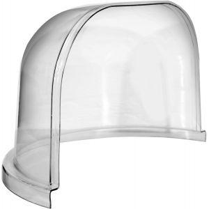 Купол защитный на половину ловителя, прозрачный пластик
