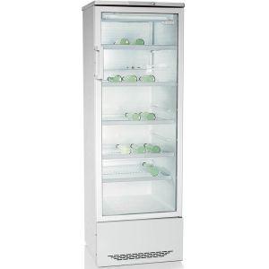 Шкаф холодильный,  310л, 1 дверь стекло, 5 полок, ножки, +1/+10С, стат.охл., белый, R134а, агрегат нижний
