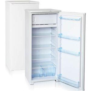 Шкаф комбинированный бытовой, 280л, 1 дверь глухая, 4 полки, ножки, 0/+8 и -12С, белый, верхняя морозилка, R134a, класс А