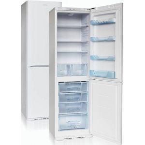 Шкаф комбинированный бытовой, 380л, 2 двери глухие, 4 полки, ножки, 0/+8С и -18С, белый, нижняя морозилка, R600а, класс А
