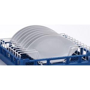 Вставка в посудомоечную корзину L для тарелок для машин посудомоечных PT, GS 630, CTR, MTR,  9 рядов, проволока,