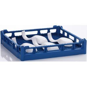 Корзина посудомоечная базовая для машин посудомоечных PT, GS 630, UF-M, MF-L, STR, MTR, 500х500мм (размер L), пластик