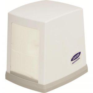 Диспенсер для салфеток L 10см w 12см h13см Luscan Professional N2, пластик серый