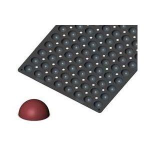 Мульфлекс ПРО МИНИ-ПОЛУСФЕРЫ D 3,5см (96 ячеек), силикон. Размер листа L 60см w 40см