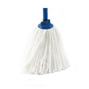 Моп для влажной уборки веревочная SUPERFINE, цвет белый