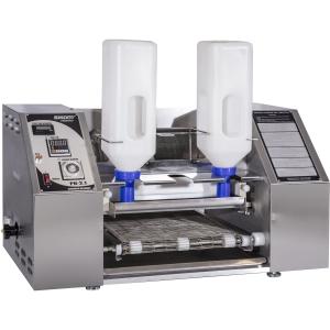 Аппарат блинный автоматический,   90шт./ч, нерж.сталь, 2 емкости 2х3л для теста, копиры для блинов D300мм, 300х300мм