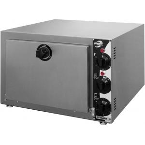 Печь-коптильня электрическая настольная, 1 камера 2GN2/3, 30л, электромех.упр, дверь глухая, 2 полки-решётки, нерж.сталь
