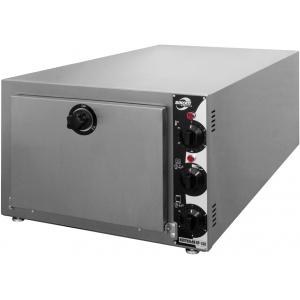 Печь-коптильня электрическая настольная, 1 камера 4GN2/3, 60л, электромех.упр, дверь глухая, 2 полки-решётки, нерж.сталь
