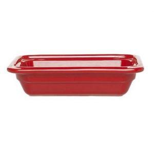 Гастроемкость GN1/4х65 Gastron, керамика, красный