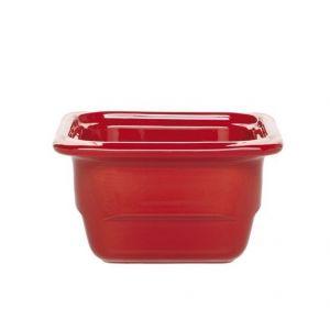Гастроемкость GN1/6х100 Gastron, керамика, красный