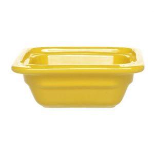 Гастроемкость GN1/6х65 Gastron, керамика, темно-желтый