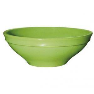 Салатник d 16см, h 5см, 0,5л, керамика, салатовый