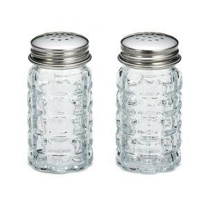 Набор для специй (2 предмета) 45мл для соли, перца, стекло