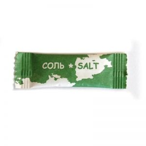 Соль порционная в стике 1г